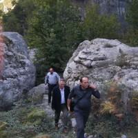 Vizitë terreni në kanionin e lumit Drini i Bardhë