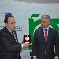 Vizita e ambasadorit të Gjermanisë në Kosovë Dr. Ernst Reichel në ndërmarrjen Trepça
