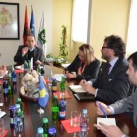 Takim me ambasadorin e Mbretërisë së Belgjikës z. Pascal H. Gregoire