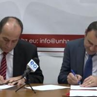 """MMPH dhe Universitetit """"Haxhi Zeka"""" me memorandum bashkëpunimi"""