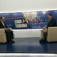 Intervista për Emisionin Euro Tribuna në Tribuna Channel-Pjesa e parë.