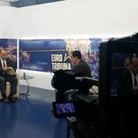 Intervista për Emisionin Euro Tribuna në Tribuna Channel-Pjesa e dytë.