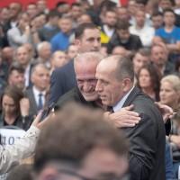 Momente nga hapja e fushatës zgjedhore të PDK-së në Mitrovicë