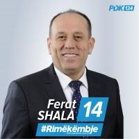 Voto Ferat Shala 14 Voto PDK 134