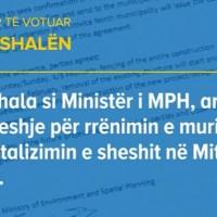 Arsye pse duhet votuar Ferat Shala
