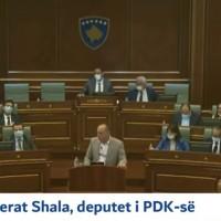 Ferat Shala, diskutimi për bordin e ARKEP