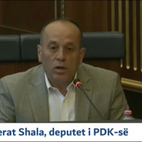 Deputeti i PDK-së Ferat Shala në Kuvendin e Kosovës